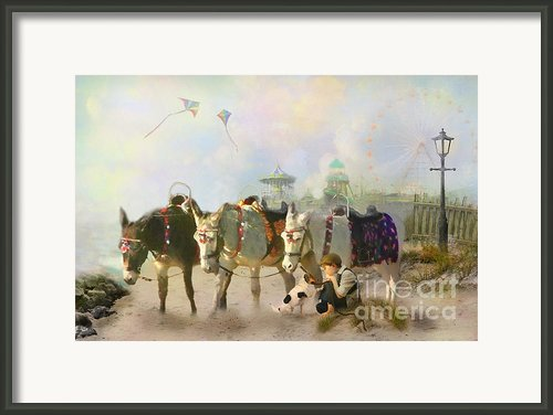 A Quiet Day Framed Print By Trudi Simmonds