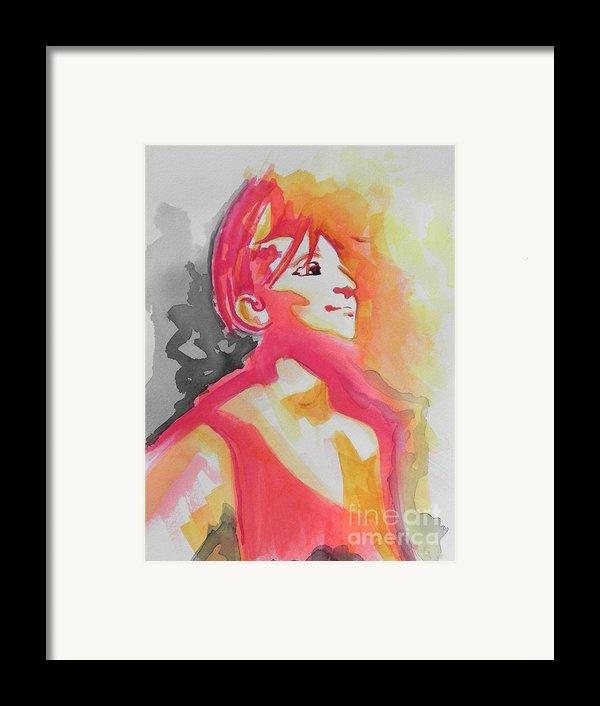 Barbra Streisand Framed Print By Chrisann Ellis