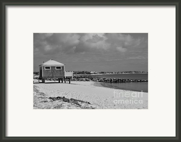 Cape Cod Winter Morning Framed Print By Catherine Reusch  Daley