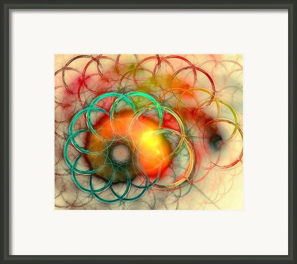 Chain Of Events Framed Print By Anastasiya Malakhova