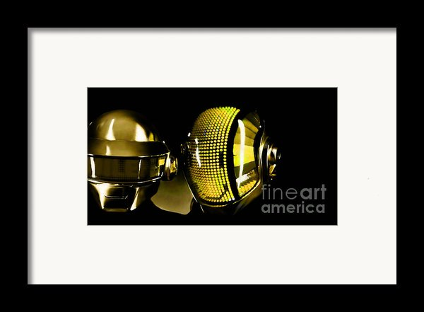 Daft Punk  Framed Print By Marvin Blaine