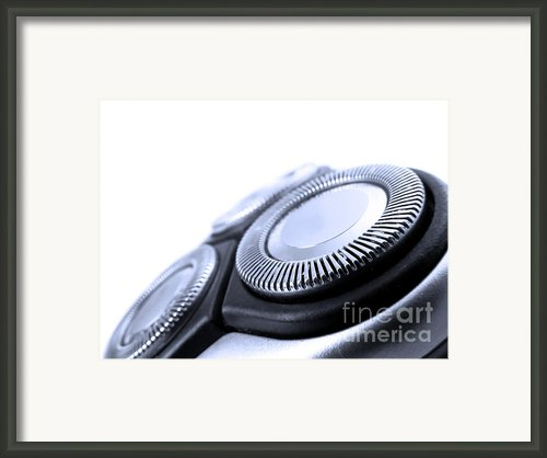 Electric Razor Framed Print By Jose Elias - Sofia Pereira