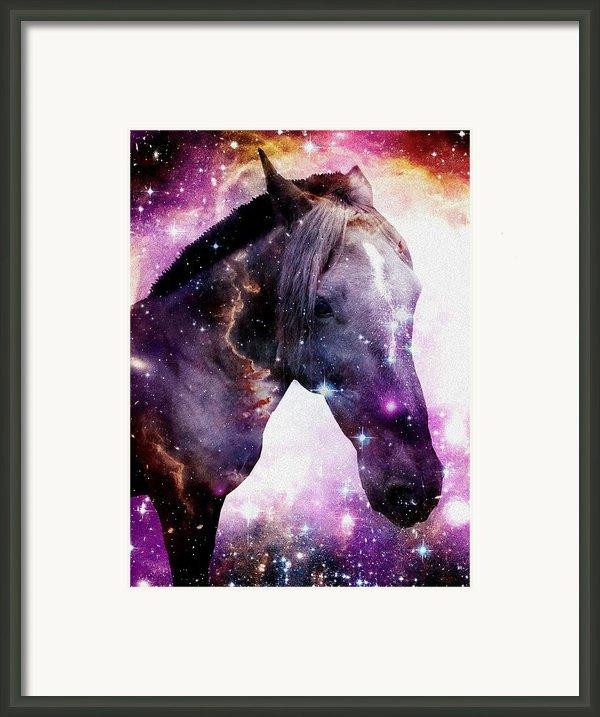 Horse In The Small Magellanic Cloud Framed Print By Anastasiya Malakhova
