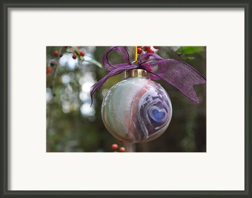 Majolica Maiolica Ornament Framed Print By Amanda  Sanford