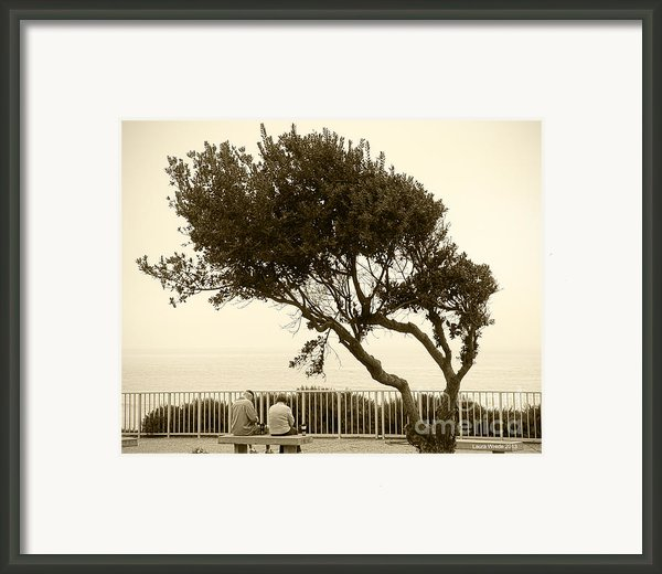Morning Coffee Together Framed Print By Artist And Photographer Laura Wrede