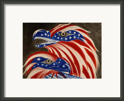Proud Of Eagle Framed Print By Jalal Gilani