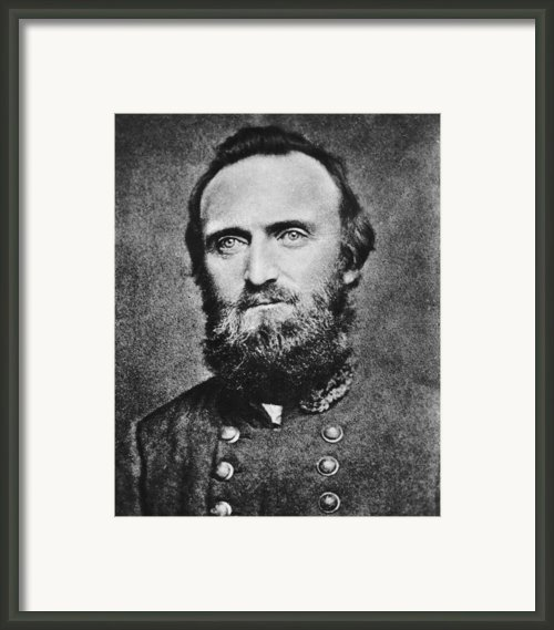 Stonewall Jackson Framed Print By Anonymous