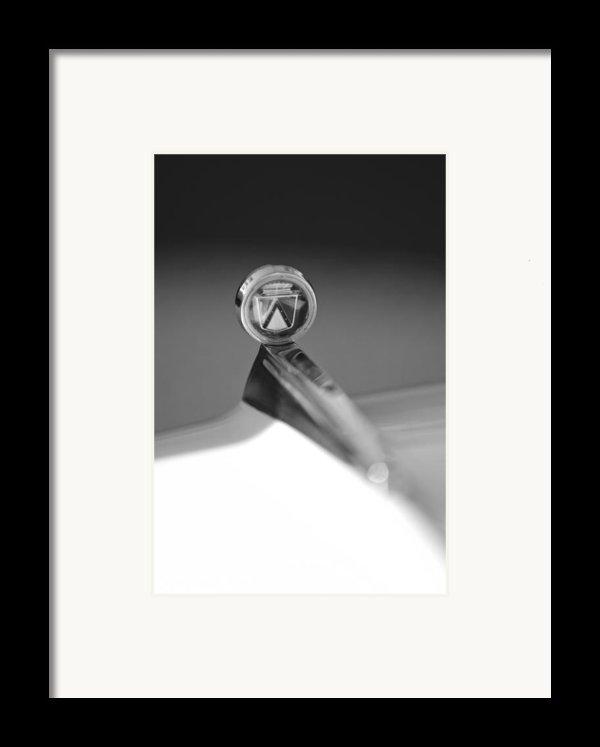 1963 Ford Futura Hood Ornament Framed Print By Jill Reger