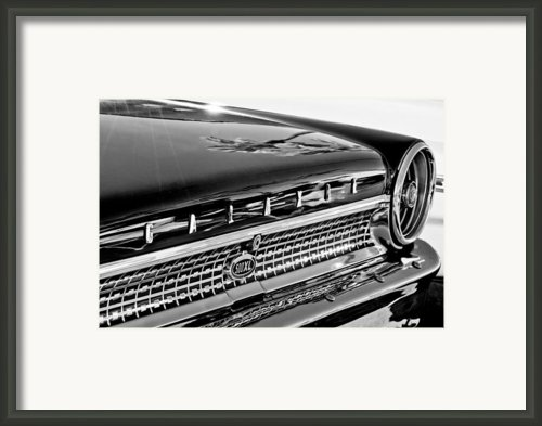 1963 Ford Galaxie 500xl Taillight Emblem Framed Print By Jill Reger