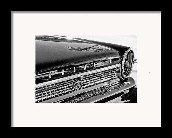 1963 Ford Galaxie 500xl Taillight Emblem Framed Print By Jill Reger