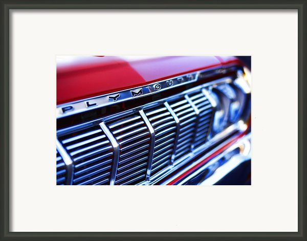 1964 Plymouth Savoy Framed Print By Gordon Dean Ii