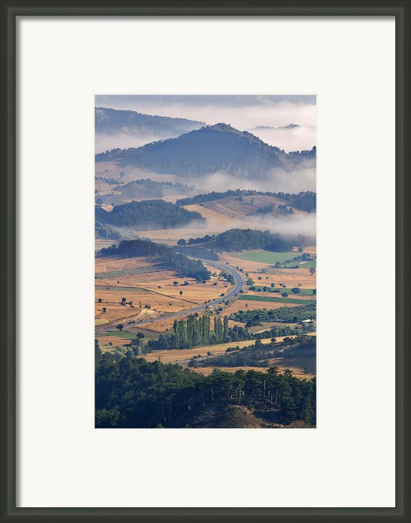 A Foggy Day Framed Print By Ayhan Altun