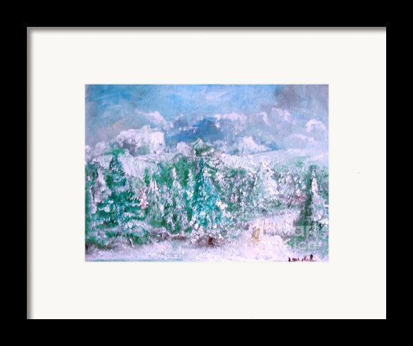 A Natural Christmas Framed Print By Laurie D Lundquist