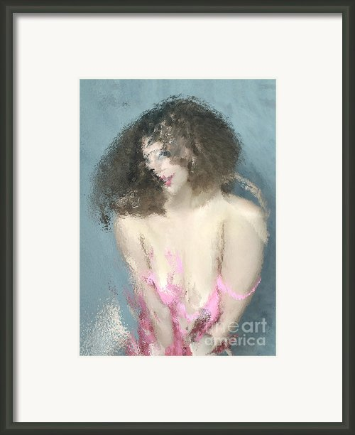 Abstracted  Model  Series     #3     Framed Print By Andrew Govan Dantzler