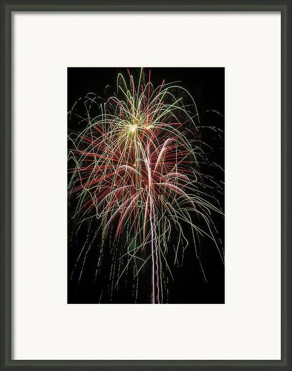 Amazing Fireworks Framed Print By Garry Gay