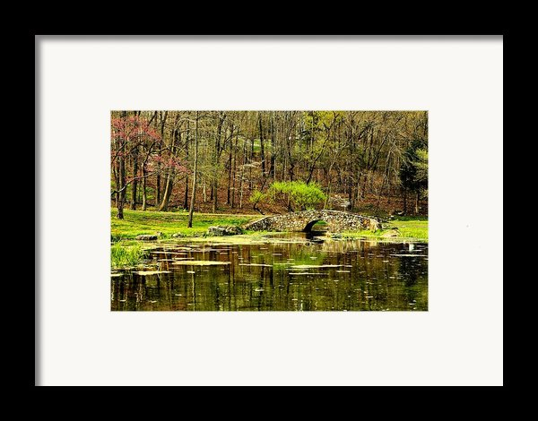 Arkansas Tranquility Framed Print By Benjamin Yeager
