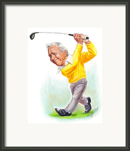 Arnie Framed Print By Harry West