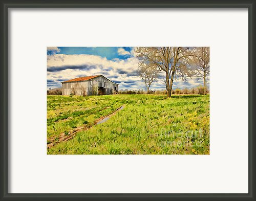 Back Roads Of Kentucky Framed Print By Darren Fisher