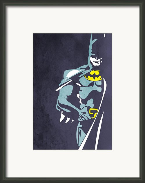 Batman  Framed Print By Mark Ashkenazi
