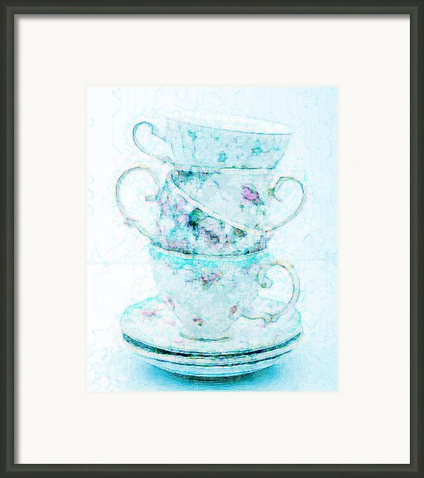 Before Tea Framed Print By Lisa Noneman