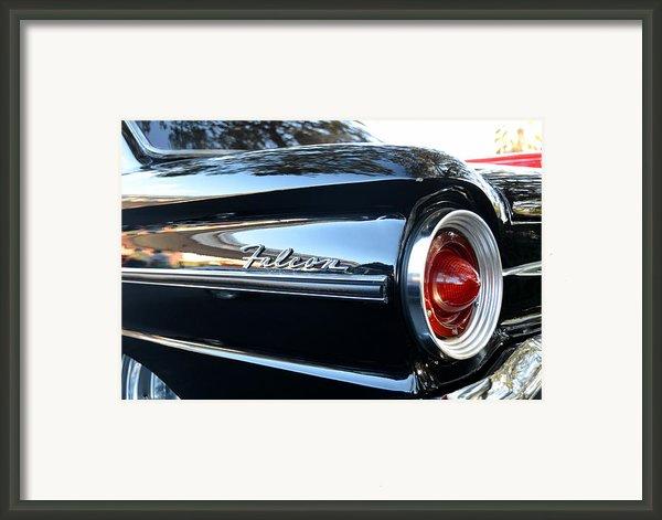 Black Falcon Framed Print By David Lee Thompson