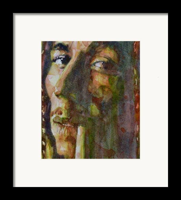 Bob Marley Framed Print By Paul Lovering