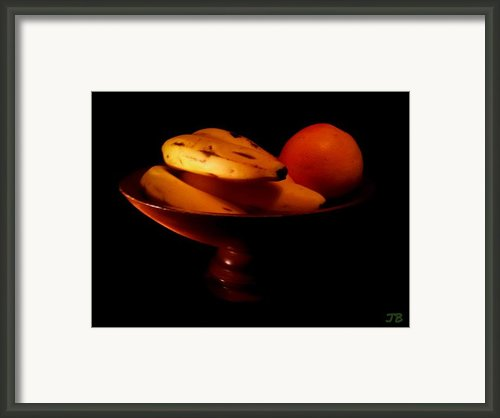 Bodegon Framed Print By Jorge Bencosme