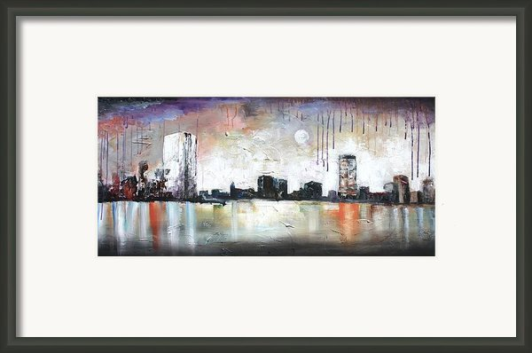 Boston Breeze Framed Print By Vital Germaine