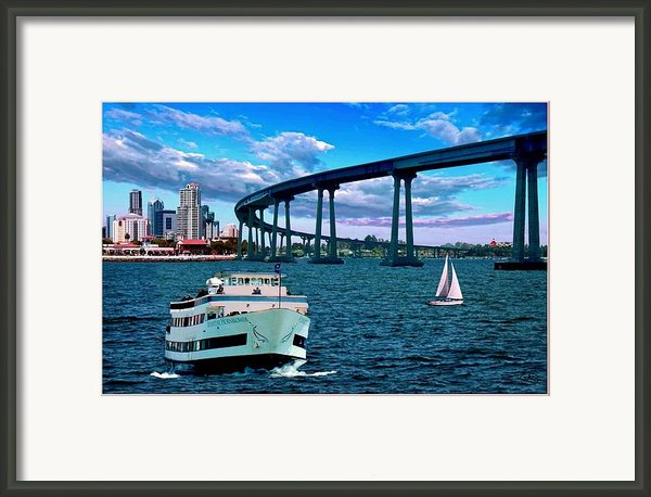 Bridge Over Troubled Water Framed Print By Ronald Chambers