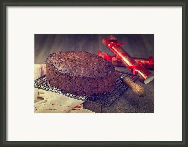 Christmas Cake Framed Print By Christopher And Amanda Elwell