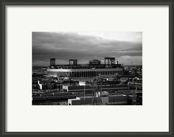 Citi Field - New York Mets Framed Print By Frank Romeo