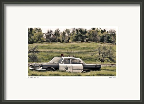Classic Cruiser Framed Print By Richard Bean