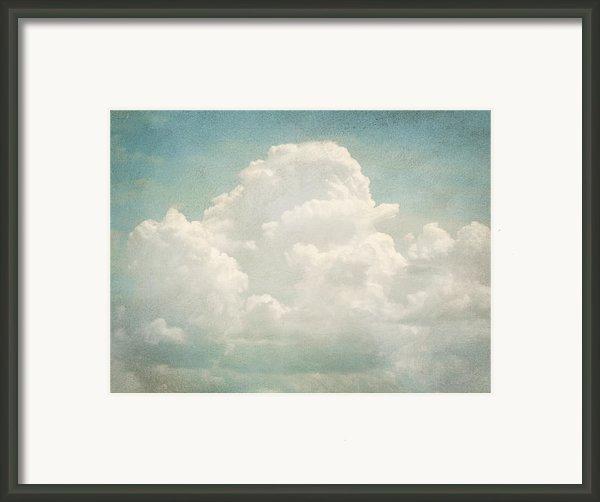 Cloud Series 3 Of 6 Framed Print By Brett Pfister