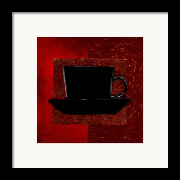 Coffee Passion Framed Print By Lourry Legarde