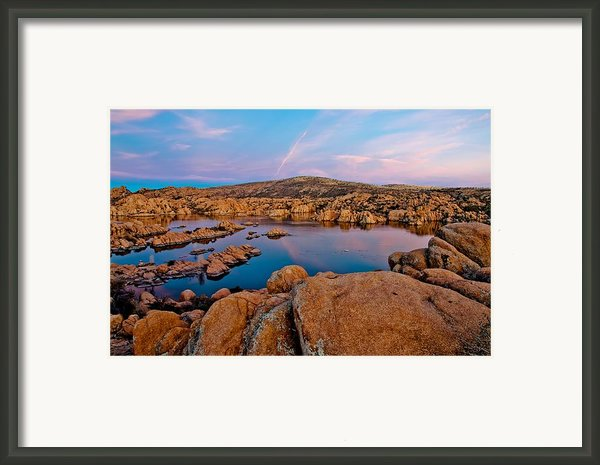 Colors Of Nature Framed Print By Jag Fergus
