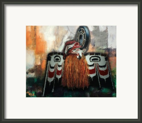 Crooked Beak Framed Print By Roger D Hale