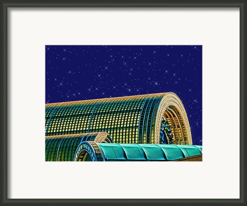 Destination By Night Framed Print By Wendy J St Christopher