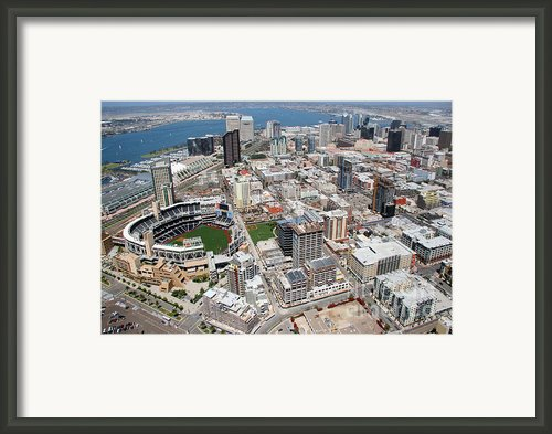 Downtown San Diego Framed Print By Bill Cobb