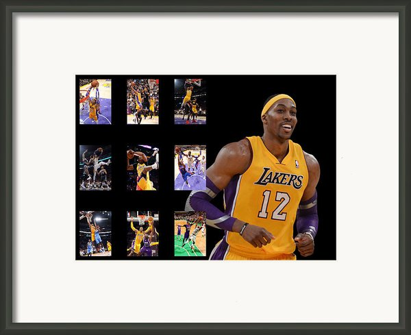 Dwight Howard Framed Print By Joe Hamilton