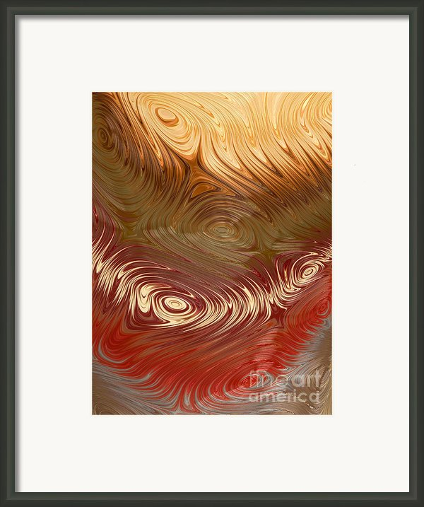 Earth Tones Framed Print By Heidi Smith