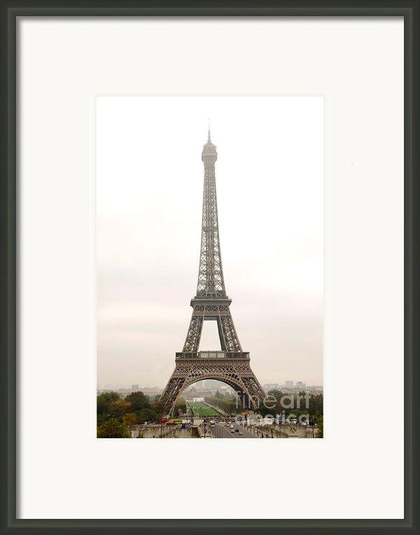 Eiffel Tower Framed Print By Elena Elisseeva