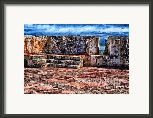 El Morro Fortress Old San Juan Framed Print By Thomas R Fletcher