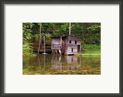 Falling Spring Mill  Framed Print By Marty Koch