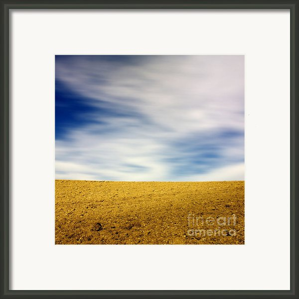 Field  Framed Print By Bernard Jaubert