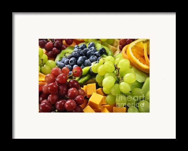 Fresh Fruits Framed Print By Elena Elisseeva