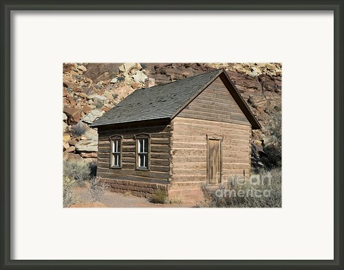 Frutia Schoolhouse Capitol Reef National Park Utah Framed Print By Jason O Watson