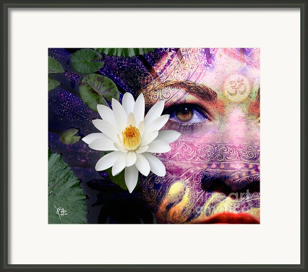 Full Moon Lakshmi Framed Print By Christopher Beikmann