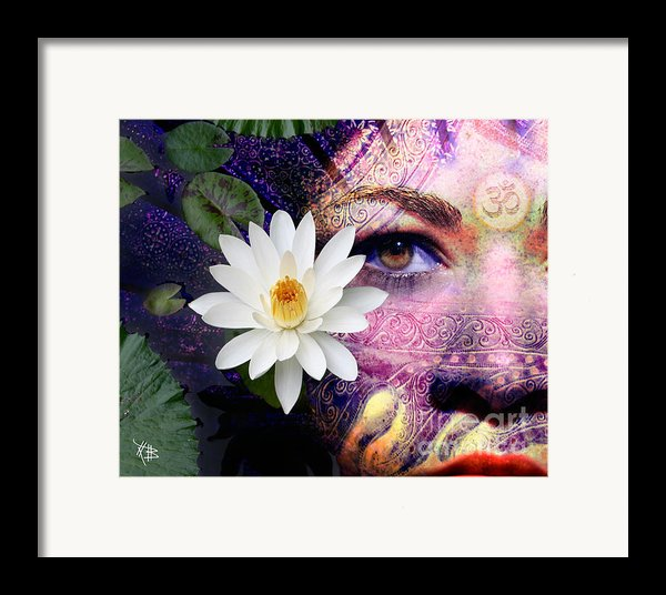 Full Moon Lakshmi Framed Print By Christopher Beikmann