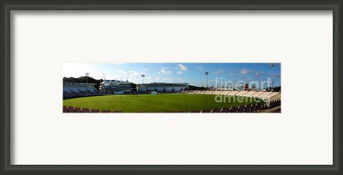 Hampshire County Cricket Ground Framed Print By Terri  Waters