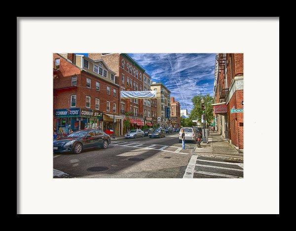 Hanover St. Framed Print By Joann Vitali